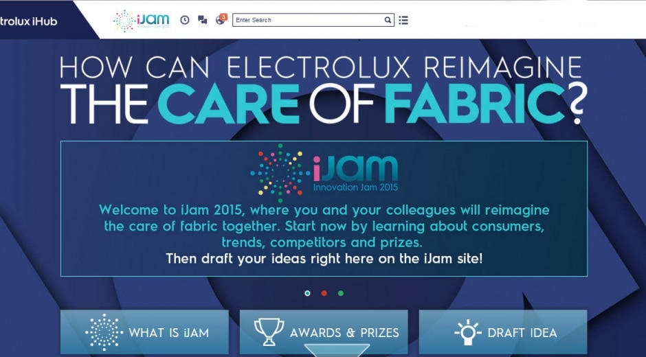Electrolux runs third innovation crowdsourcing event