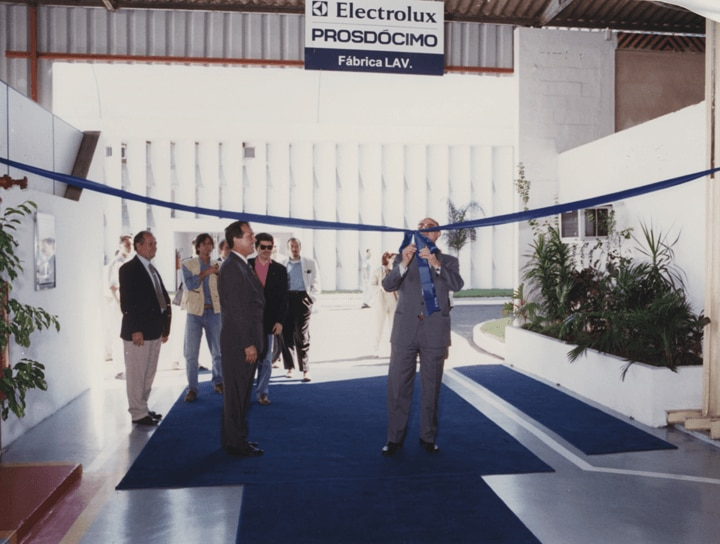 Factory inauguration in Brazil